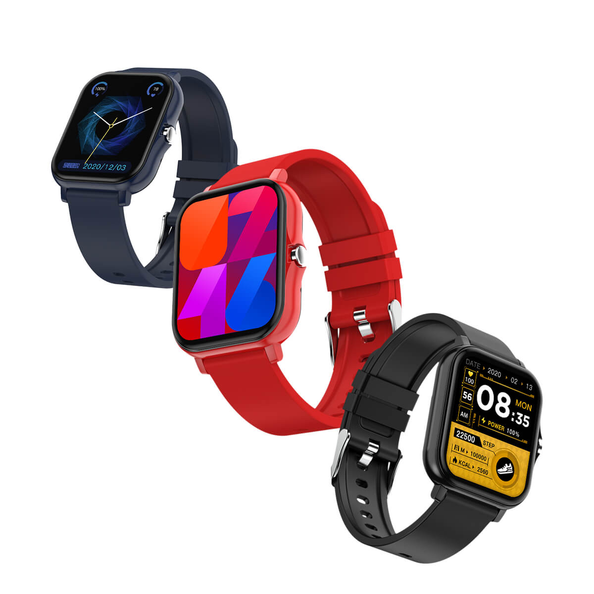 Lightweight Sports Smart Watch/Gift Watch/Heart Rate and Blood Pressure ECG Monitoring Watch/Android